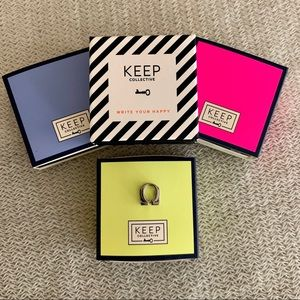KEEP Collective   Omega Greek Letter Charm